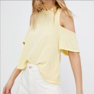 NWT Free People Taurus Cold Shoulder Top (M)